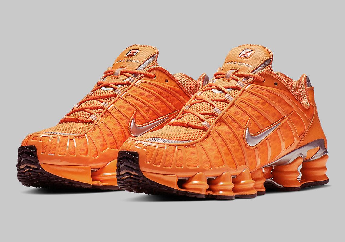 size 40 e4e8e f3afd Nike Shox TL Orange BV1127 800 Release Info | SneakerNews.com