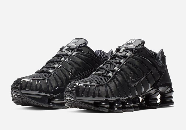 Nike Shox TL All Black BV1127-001 Release Date | SneakerNews.com