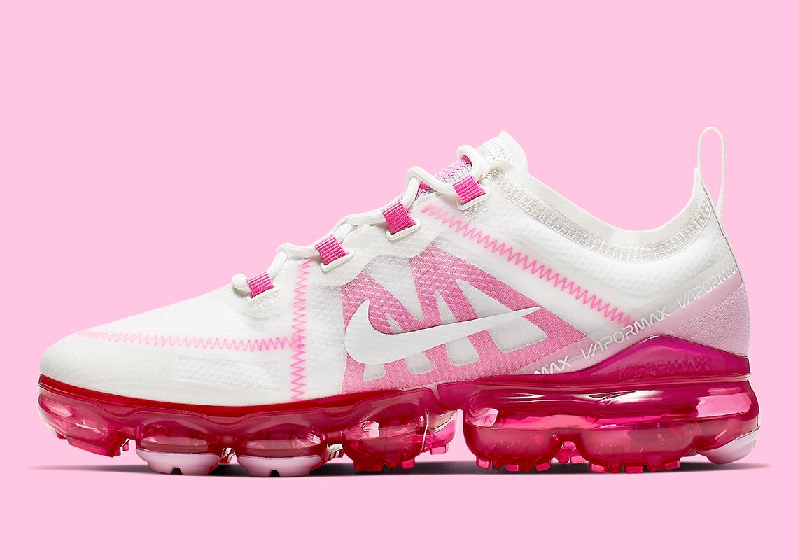 650d36b9537c Nike Vapormax 2019 Women s White Pink AR6632-105