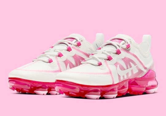 "Nike Vapormax 2019 ""Pink Rise"" Has Arrived"