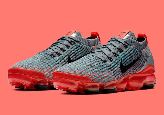 "Nike Vapormax 3 ""Flash Crimson"" Releases This Saturday 7e30d0b04"