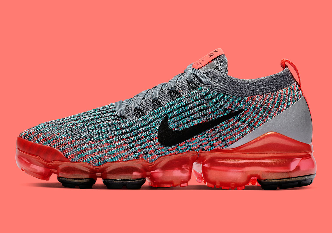 new product 69ea2 552c1 Nike Vapormax 3 Flash Crimson AJ6910-601 Release Info ...