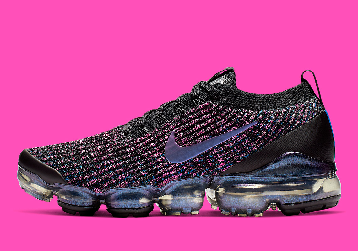 """new style 4cf0b 7b9b4 The Nike Vapormax Flyknit 3 Arrives In The """"Throwback Future"""" Colorway"""