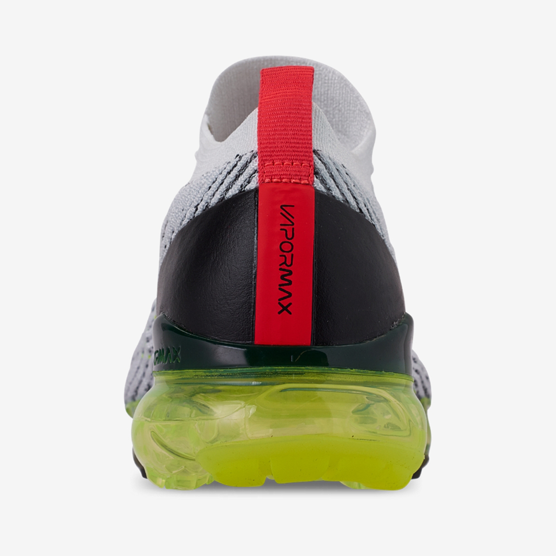 207f56926d Nike Vapormax Flyknit 3 White Volt Crimson AJ6900-100 | SneakerNews.com