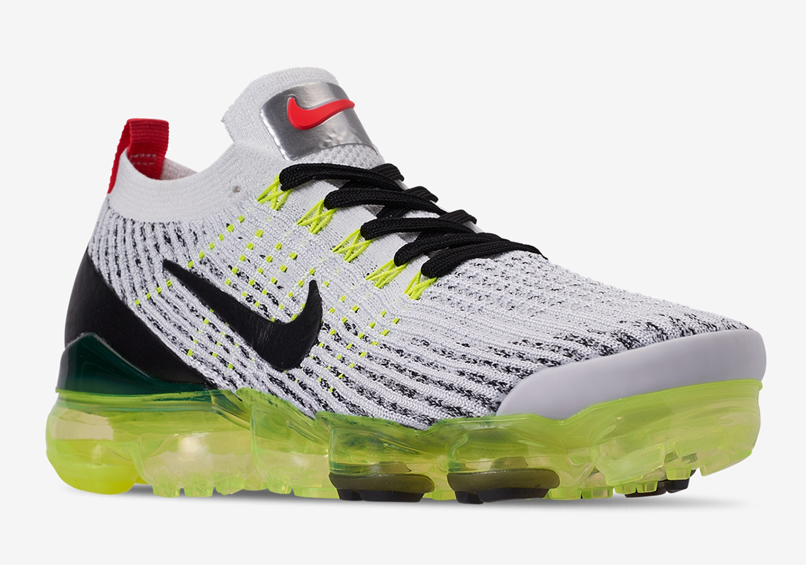 white and green vapormax