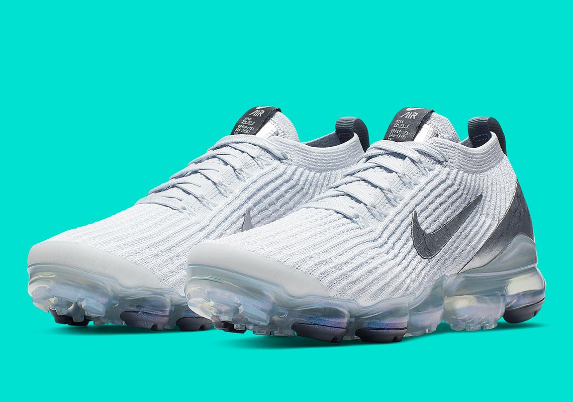 finest selection 100c5 1c604 Nike Vapormax Flyknit 3 Women's Metallic Silver AJ6910-101 ...