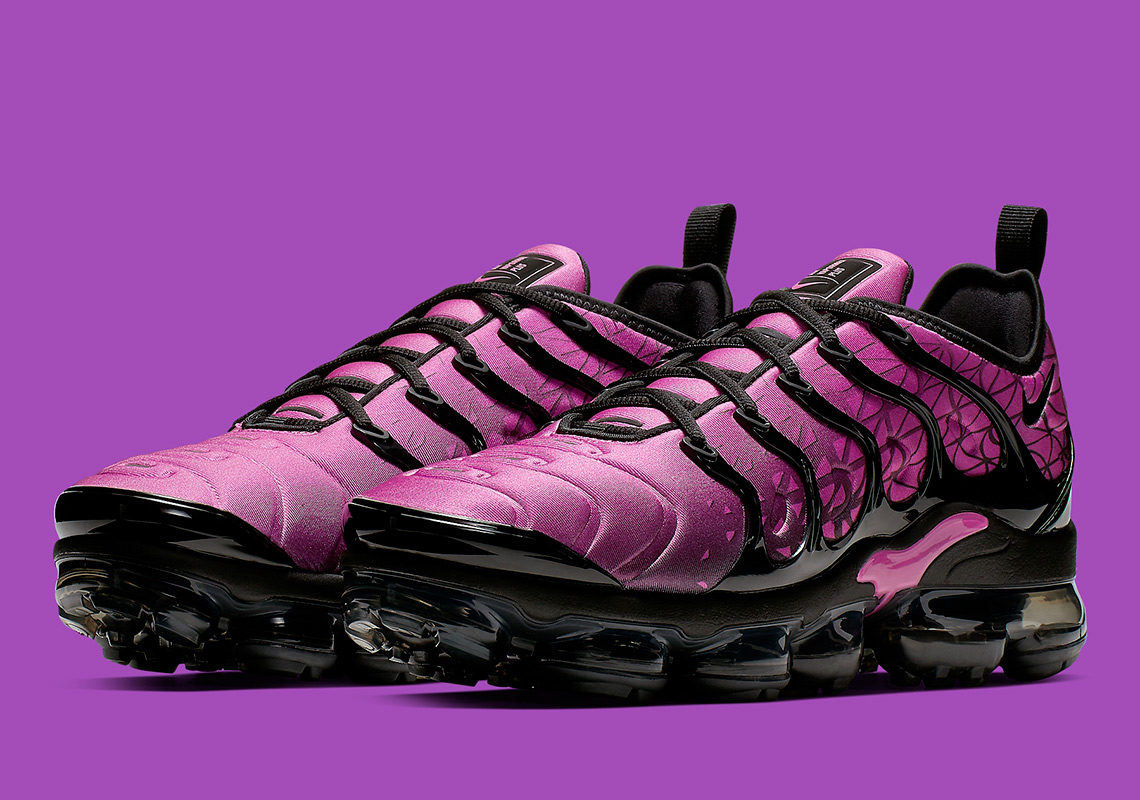 9c4cc80cf39 Nike VaporMax Plus  190. Color  Active Fuchsia Black Style Code  924453-603.  Where to Buy. Nike Available