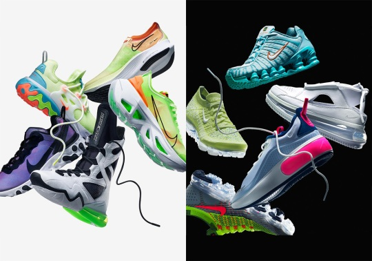 Nike Introduces Several New Women's Footwear Styles For Summer