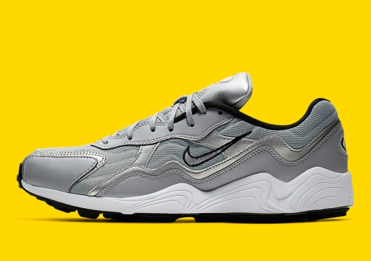 Space-Age Silver Tones Arrive On The Nike Zoom Alpha