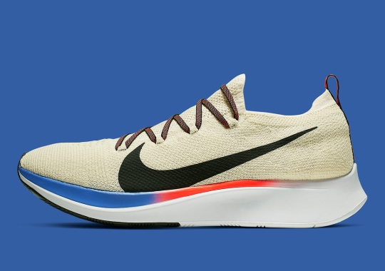Gradient Streaks Appear On The Nike Zoom Fly Flyknit