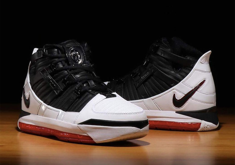 new style 9097d 4c343 Nike Zoom LeBron 3 Home AO2434-101 Release Date   SneakerNews.com