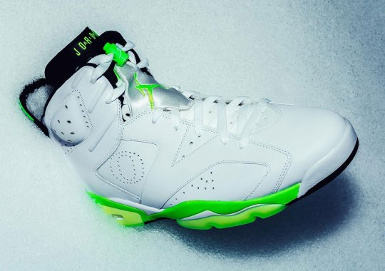 a4a44b9c8d73 The Oregon Ducks Reveal A Frosty Women s Jordan 6 PE