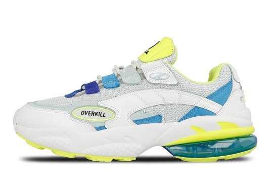 "Overkill x Puma Cell Venom ""Radiant Venom"" Features Bright Neon Tones"