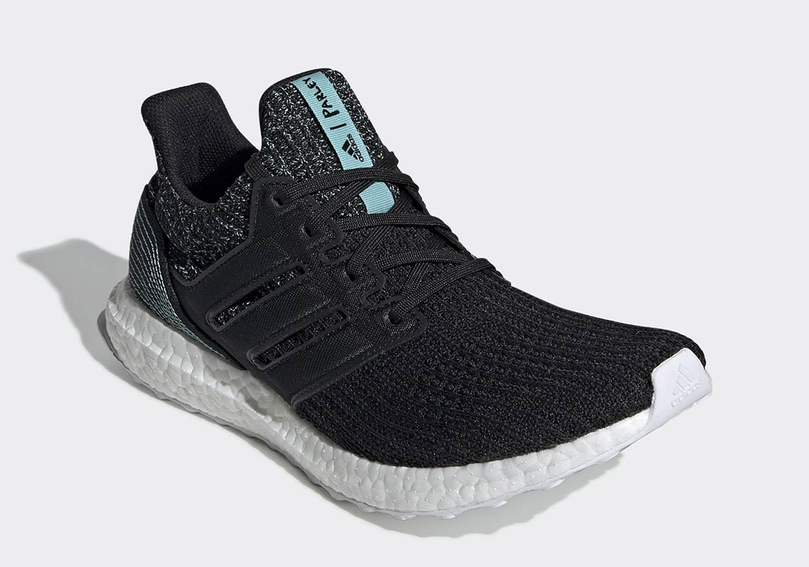 the best attitude 2e086 ccc5f Parley adidas Ultra Boost Black F35190 Release Info ...