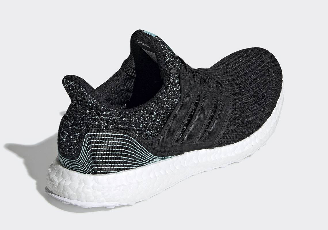 the best attitude 73ffa 0437d Parley adidas Ultra Boost Black F35190 Release Info ...