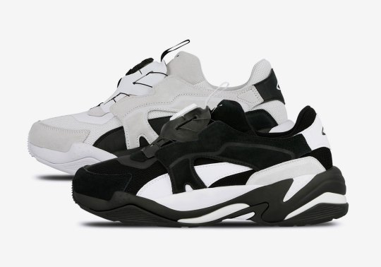 The Puma Thunder Adds The Disc Blaze Technology