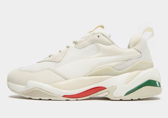The Puma Thunder Spectra Adapts Italian Colors