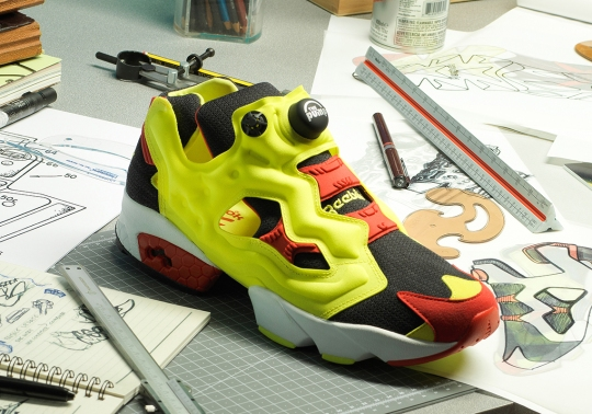 Reebok Celebrates The 25th Anniversary Of Instapump With A Prototype Release