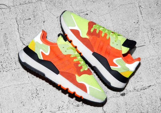 """Size? x adidas Nite Jogger """"Road Safety"""" Features High Visibility Colors And Details"""
