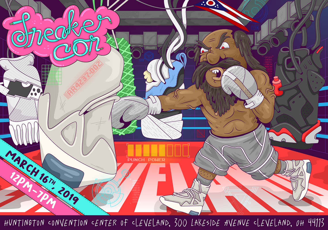 Sneaker Con Cleveland Info + Tickets