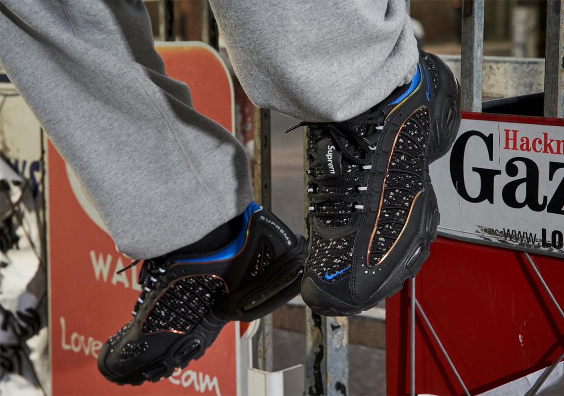 b99fedf2100c Supreme Nike Air Max Tailwind 4 AT3854-001 + AT3854-100 Release Date ...
