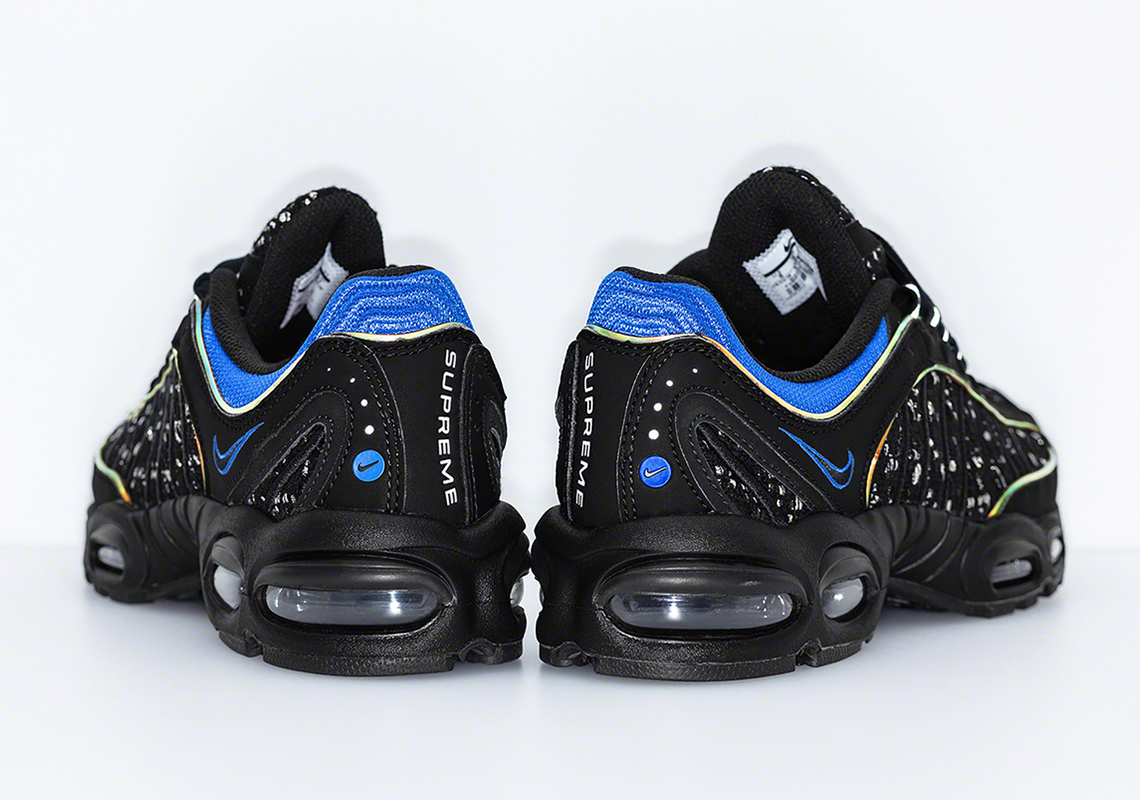 adfee8ef5a4f Supreme Nike Air Max Tailwind 4 AT3854-001 + AT3854-100 Release Date ...
