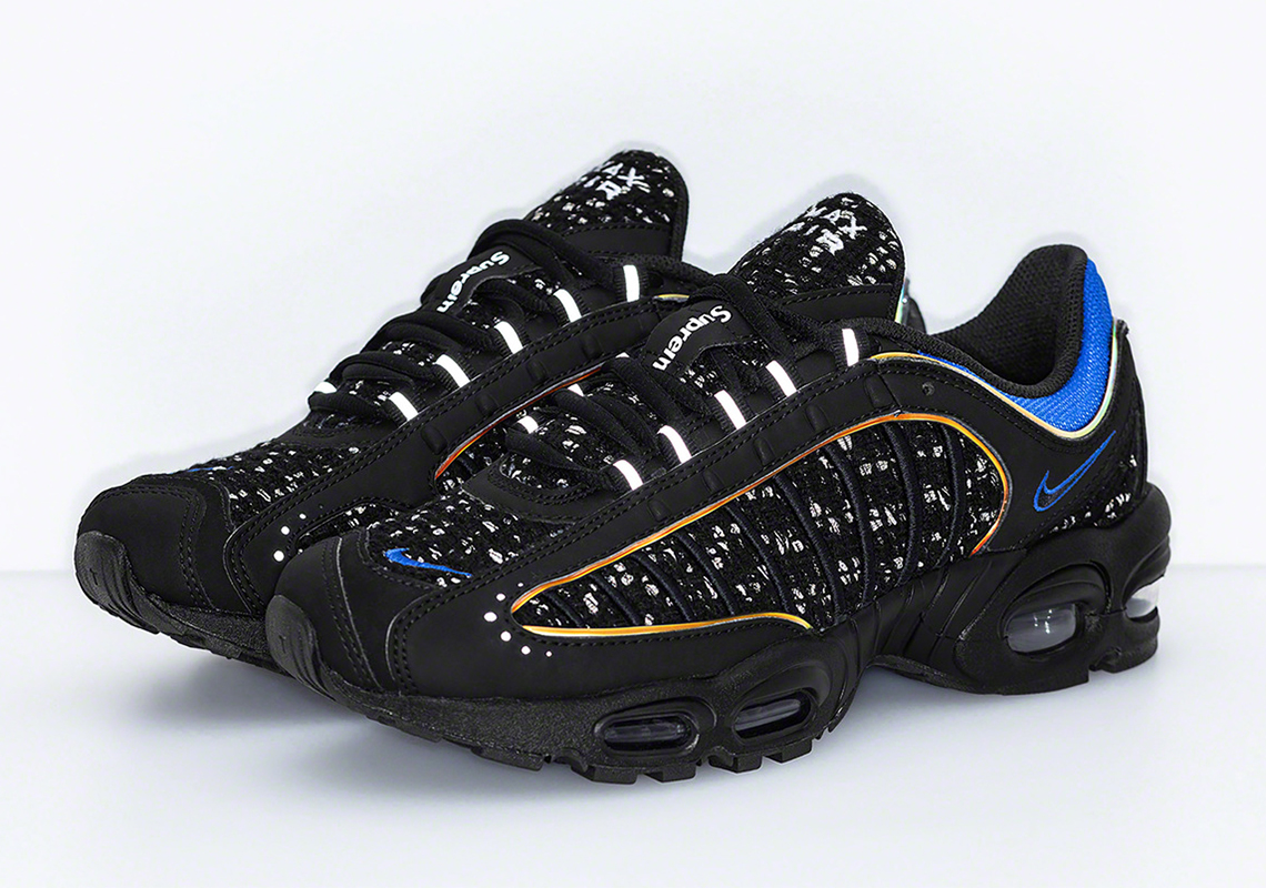 798825fa78 Supreme x Nike Air Max Tailwind IV Supreme Release Date: March 21st, 2019  (US/EU) Release Date: March 22nd, 2019 (Japan) Release Date: March 23rd, ...