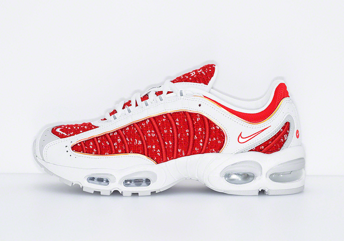 56ea3126e4ee Supreme Nike Air Max Tailwind 4 AT3854-001 + AT3854-100 Release Date ...