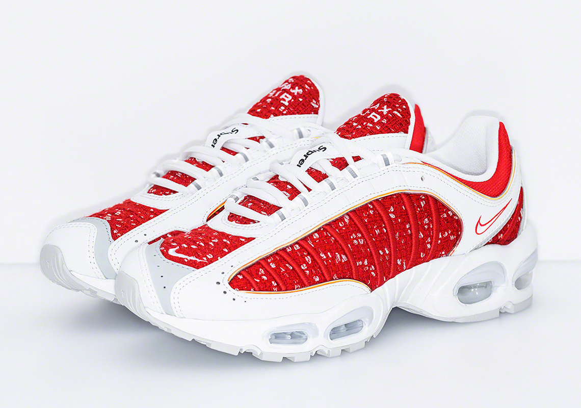 c9dd5fb98ee54 Supreme Nike Air Max Tailwind 4 AT3854-001 + AT3854-100 Release Date ...