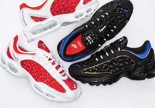 Supreme x Nike Air Max Tailwind IV Releases This Week