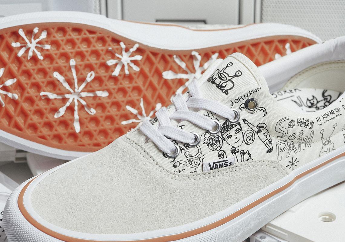 804eb90db4 No-Comply x Daniel Johnston x Vans Era   Slip-On Release Date  March 13th