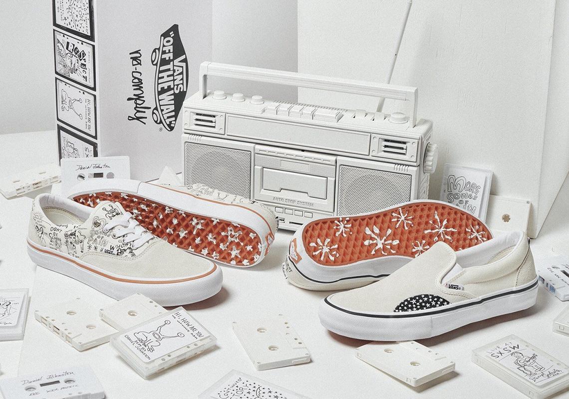100% authentic pick up super cheap compares to Vans No Comply Daniel Johnston Era + Slip-On | SneakerNews.com