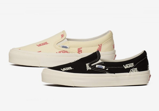 Vans Adds Another All-Over Graphic To A Duo Of Slip-Ons