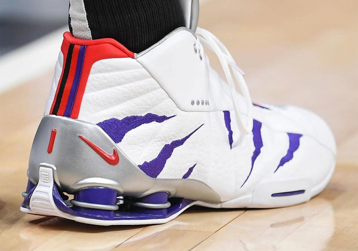 Vince Carter Nike Shox BB4 White