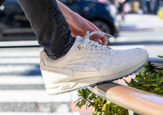 Asics Unveils A GEL Saga With Yu Nagaba's Signature Artwork
