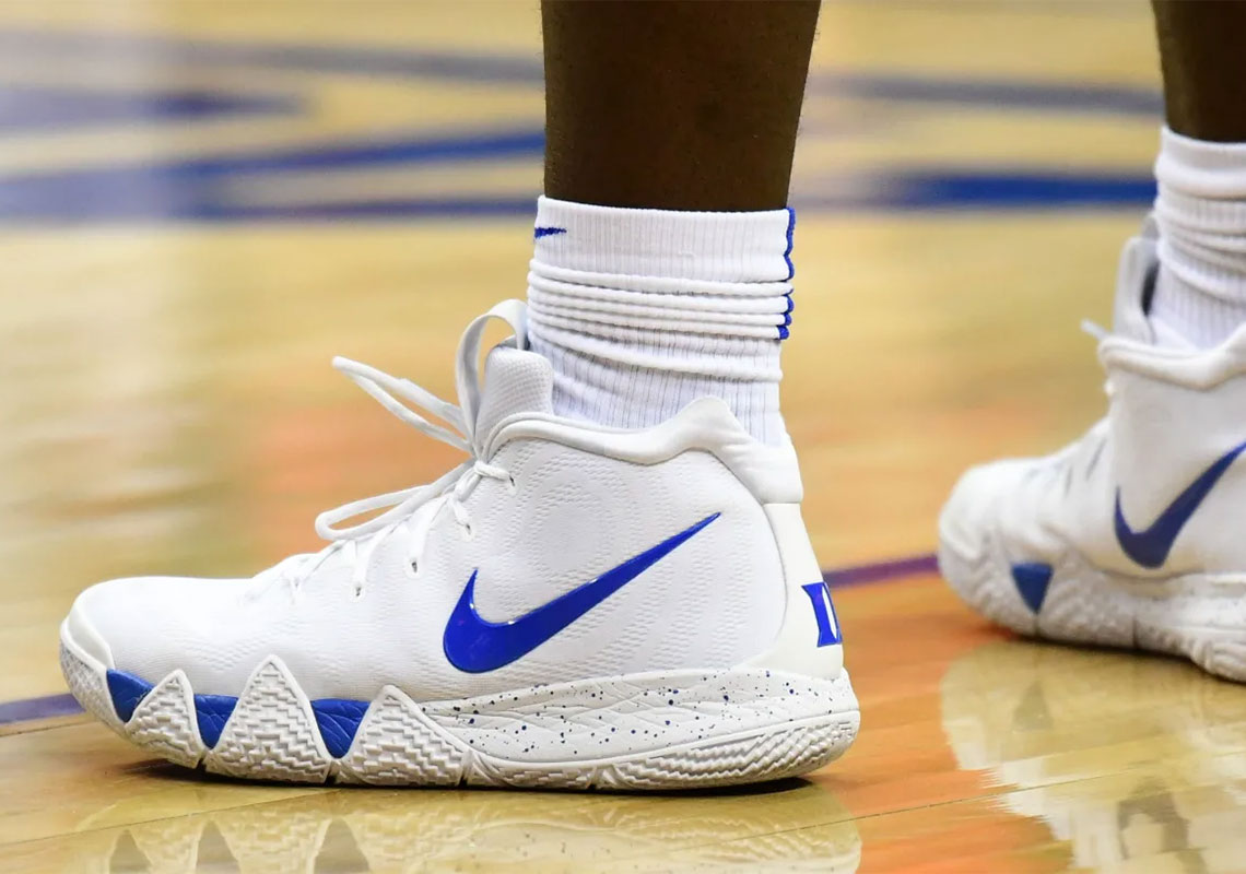 d36e3e6d2b22 Nike Gave Zion Williamson Custom Kyrie 4s For His Return