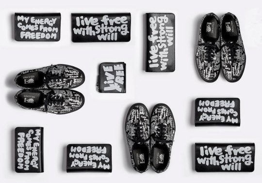 COMME des GARCONS and Vans Flaunt All-Over-Prints On The Vault Authentic