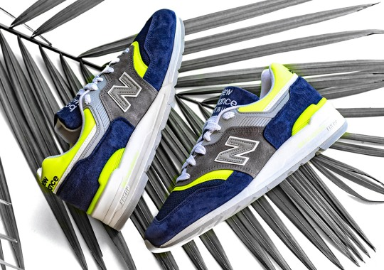 The New Balance 997 Arrives In Nautical Blue And Yellow Uppers