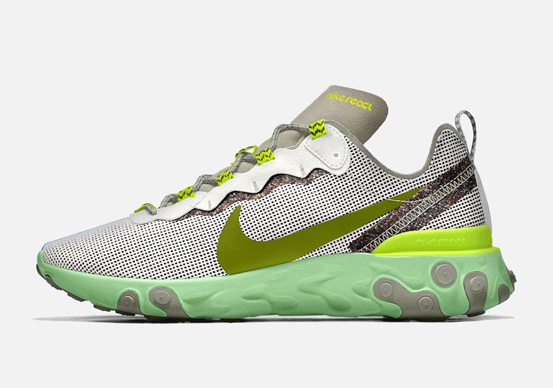 Nike By You React Element 55 ID Custom