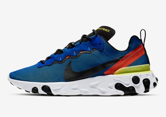 "Nike React Element 55 ""Captain Marvel"" Is Coming Soon"