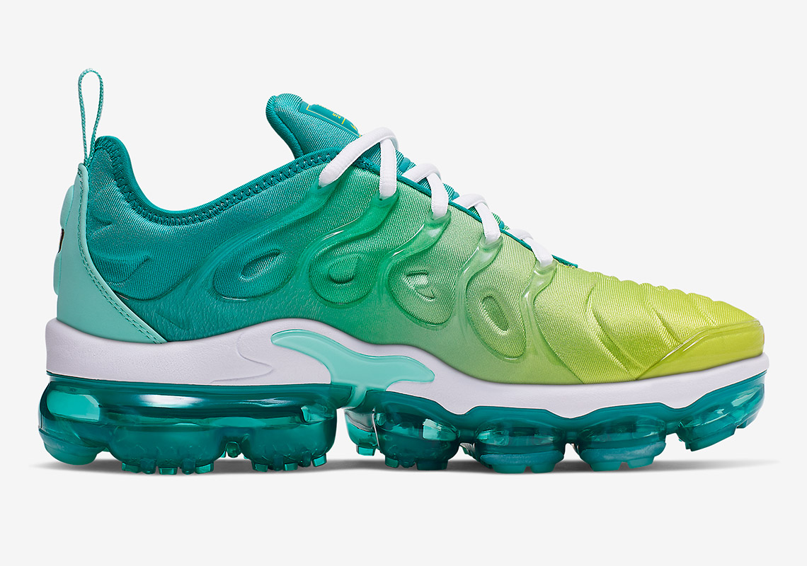 brand new b491e d1903 Nike Vapormax Plus Lemon Lime CI9900 300 Release Info ...