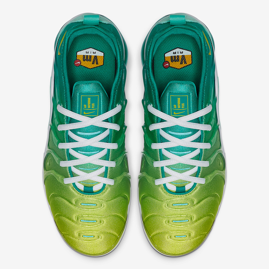 """low priced 0e821 2f049 Nike Refreshes The Vapormax Plus With New """"Lemon Lime ..."""