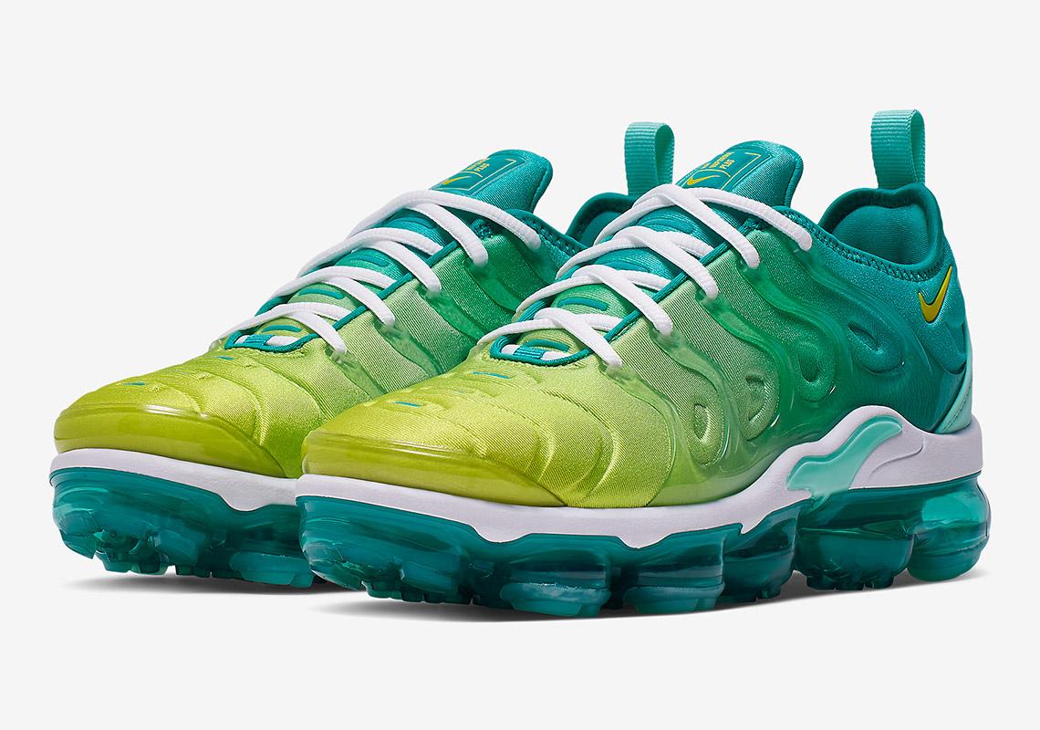 brand new 8b2ed 10c54 Nike Vapormax Plus Lemon Lime CI9900 300 Release Info ...