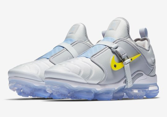 "Official Images of the Nike Air VaporMax Plus ""Paris Works In Progress"""