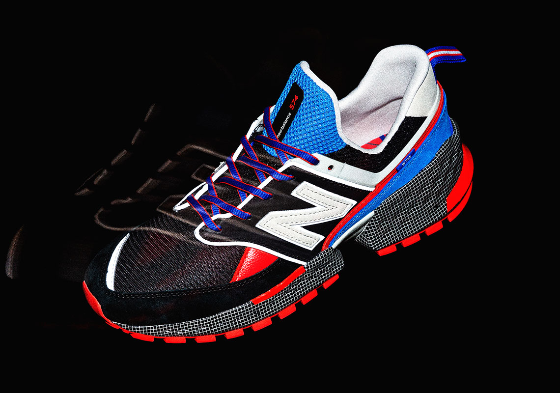 the best attitude 16427 32f6d Whiz Limited mita New Balance MS 574 V2 For The Night ...