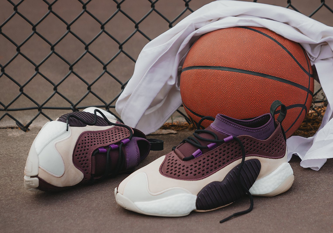 lowest price 04282 e2abb A Ma Maniere and adidas Consortium Join Forces For A Luxe Crazy BYW Low