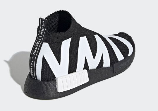 This Boldly Branded adidas NMD City Sock Is Coming Soon In A Reverse Black And White