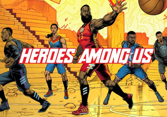 "Marvel And adidas Basketball To Release ""Heroes Among Us"" Collection"