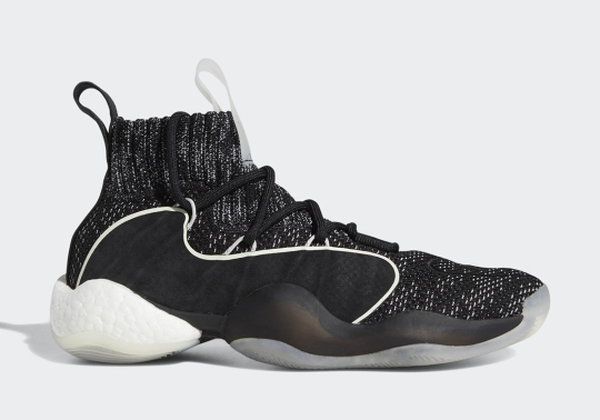"""The adidas Crazy BYW X Returns With New """"Oreo"""" Primeknit Upper"""