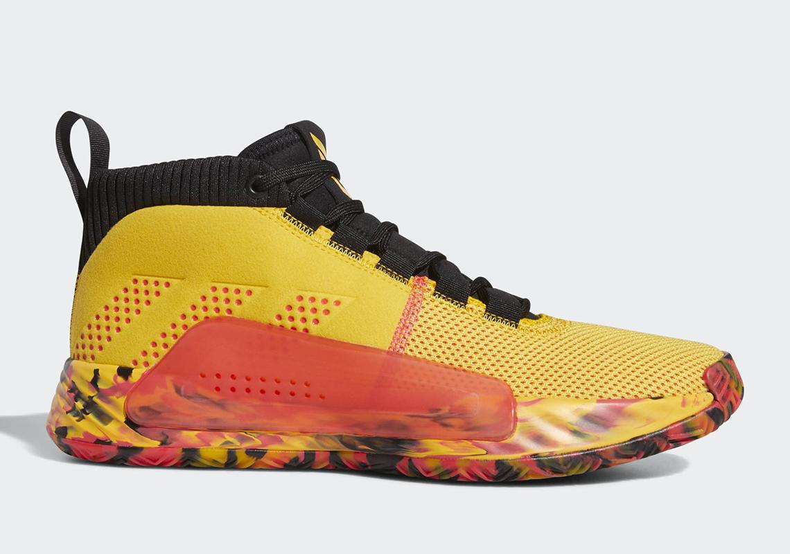 super słodki nowe style wiele kolorów adidas Dame 5 Dame Goose BB9315 Release Date | SneakerNews.com